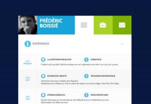 CV de Frédéric Boissié
