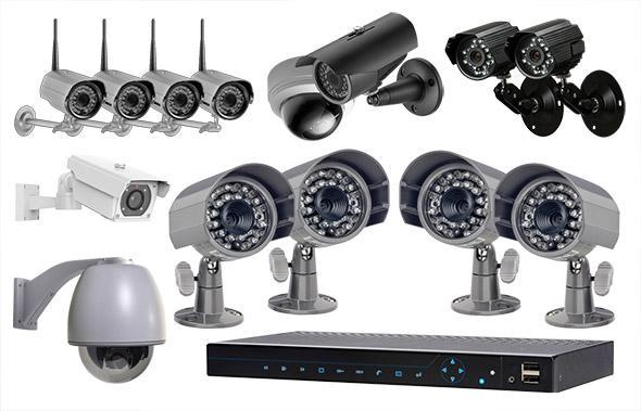 Kit complet de caméras de surveillance